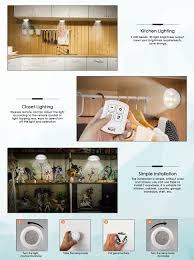 under cabinet lighting no wires inlife under cabinet lighting led wireless battery operated 6