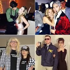 easy couples costumes couples costumes popsugar