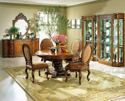 the tapestry formal round dining room collection 12460