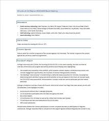 business meeting report template business meeting minutes