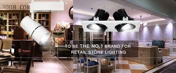 Retail Store Lighting Fixtures Professional Commercial Led Shop Lights Fixtures Solution Design