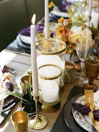 modern drink table tips for creating a modern marigold hued thanksgiving tablescape