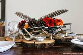 rustic thanksgiving table decor hometalk