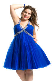halter ruched sweetheart beaded short royal plus size short prom