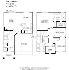 Dr Horton Home Floor Plans Hampton 3722 Stewart Crossing Puyallup Washington D R Horton
