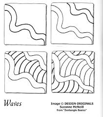 zentangle pattern trio links to online instructions for drawing suzanne mcneill s zentangle