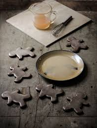 beautiful spicy gingerbread cookies with citrus glaze reclaiming
