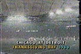thanksgiving day 1980 shortest overtime in nfl history bears vs