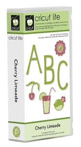 amazon com cricut lite 2000153 cherry limeade cartridge u0026 keypad