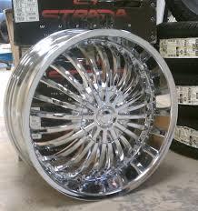 lexus chrome wheels strada rims a2i strada spina chrome wheels 20