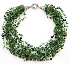 crochet beading necklace images Airy crochet necklace tutorial using fishing line the beading jpg