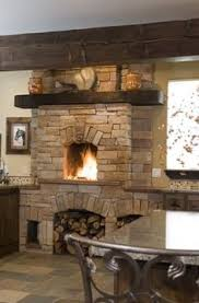 kitchen fireplace design ideas 10 ways to add spark with a fireplace kitchens shelves and storage