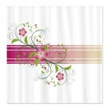 Pink Green Shower Curtain Makanahele Category Pink Shower Curtains Page 2