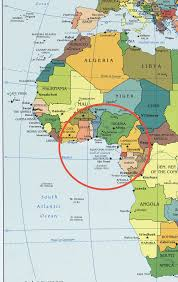 Map West Africa by African Shipping Line Africa Shipping Line West Africa