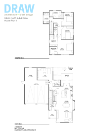 house plan 1 urban north kcmo u0027s new modern subdivision