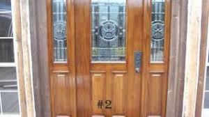 How To Stain Mohagany Doors Youtube by Mahogany Doors Refinished Youtube