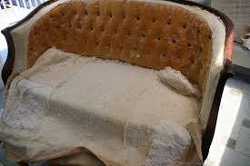Cotton Batting Upholstery Eighteenth Century Agrarian Business Diy Reupholstering Part 1