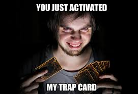 You Ve Activated My Trap Card Meme - q a cats the yuki report