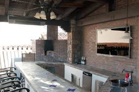 Outdoor Kitchen Designs With Pizza Oven by Pizza Ovens Phoenix Landscaping Design U0026 Pool Builders Remodeling