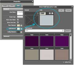 new roomsketcher u2013 custom paint color sloped ceilings and more