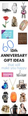 15 year anniversary gift for him 15th wedding anniversary gift ideas for metropolitan