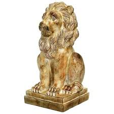 lion statue large outdoor lion statues wayfair