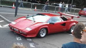 classic lamborghini countach lamborghini countach at harpenden classic car show 2015 youtube