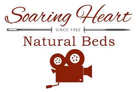 organic gots certified cotton u0026 premium wool futon soaring heart