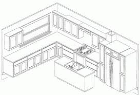 Kitchen Design Autocad Glamorous Autocad Kitchen Design With Kitchen Design In Autocad