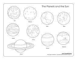 7 innovative outer space coloring pages ngbasic
