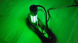 green blob fishing light reviews unboxing 12v led fishing light green youtube