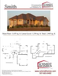 one story homes schmidt homes