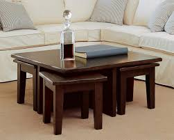 table with stools underneath coffee table with chair simple wooden brown coffee table with coffee