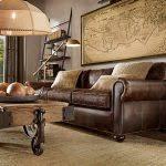 Worn Leather Sofa Distressed Leather Sofa
