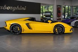 lamborghini aventador roadster yellow used 2015 lamborghini aventador for sale richardson tx