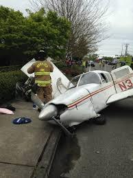 watch fiery washington plane crash caught on video fox 61