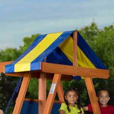 Weston Backyard Discovery Backyard Discovery Tucson Cedar Wooden Swing Set Reviews Home