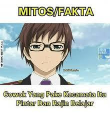 Meme Comic Anime - mitt osvfakta meme comic habibkazu to cowok yang pake kacamata tu