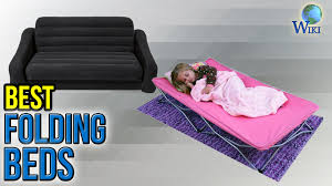 Folding Bed With Mattress 10 Best Folding Beds 2017 Youtube