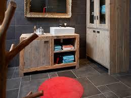 weie badmbel sauna ombouw oud hout restylexl badkamermeubel badmeubel