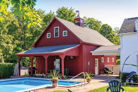 lean to overhangs the barn yard u0026 great country garages