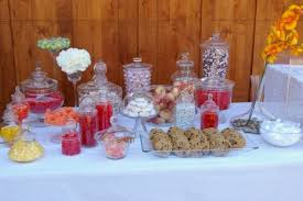 Candy Buffet Jars Cheap by Masquerade Party Ideas Candy Buffet U2013 Dollar Store Crafts