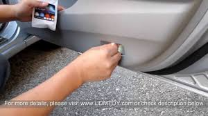 installing led lights in car ijdmtoy tutorial how to install led door courtesy lights youtube