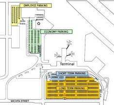 Chicago Midway Airport Map Airport Parking Maps For Mcallen Memphis Miami Midway Milwaukee
