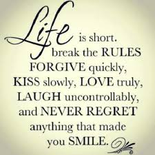 Short Love Quotes Her by Here Is A Very Short Quotegraphic Outlining Six Rules Of Life
