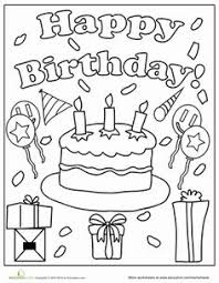 happy birthday hunting coloring pages coloring