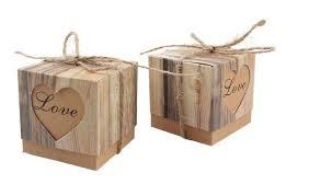 bonbonni re mariage 100 pcs de mariage bonbonnière coeur en amour rustique kraft