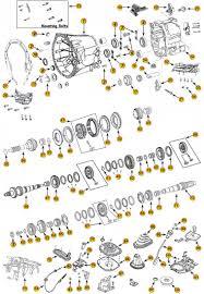 daimler nsg370 6 speed transmission parts jeep 4x4