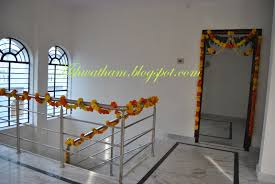 Flower Decoration For Home by Flower Decoration For House Warming Ceremony