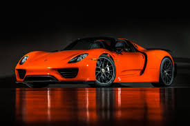 red porsche 918 2015 porsche 918 weissach